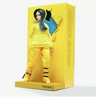 "Billie Eilish Bad Guy Fashion Doll 10.5"" Poseable Figure + Diorama Display"