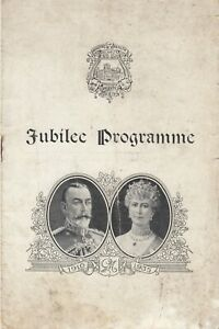 1935 JUBILEE PROGRAMME Ministry of Health Operatic The Arcadians