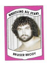 1982 Wrestling All Stars Series A Set Break #20 Bruiser Brody