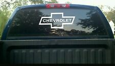 Chevrolet emblem Vinyl Decal Sticker