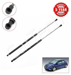 2X REAR BOOT GAS TAILGATE SUPPORT STRUTS FOR HONDA CIVIC MK8 465N 74820SMGE03