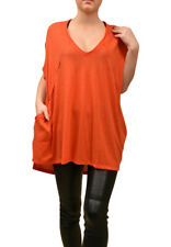 Free People Womens City Vibes OB815486 Top Wide Tango Red Size XS