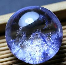 36.8ct Rare NATURAL Clear Beautiful Blue Dumortierite Crystal Pendant Polished