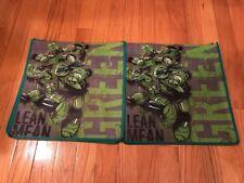 2 NEW Nickelodeon Kids Reusable Shopping Tote Bags - Mutant Ninja Turtles