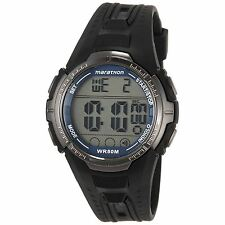 Timex T5K359 Mens Marathon Ironman Digital Sports Alarm Wrist Watch New