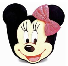Disney Minnie Mouse Treat Bag,Felt,Sequined Hair Bow,Handle