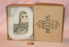 Great Gray Owl Figurine Trinket Box; By Harmony Kingdom Ball Pot Bellys #Pbzow14