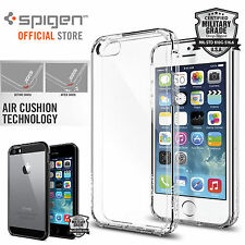 iPhone SE / 5S / 5 Case, Genuine SPIGEN Ultra Hybrid SOFT Bumper Cover for Apple