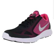 Nike Revolution 3 (GS) 819416-001 Black Silver Pink Kids US size 4, EURO 36