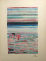 Paul Klee, Lagoon City, 40x30 litografia, Mourlot Frères 1954