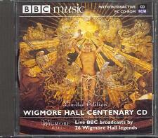 WIGMORE HALL CENTENARY CELEBRATION - BBC CD (2001) ANDRAS SCHIFF, JOSHUA BELL ++