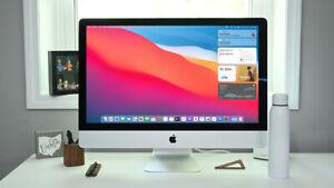 Apple iMac 27 Retina 5K 3.4GHz Core i5 AMD Radeon Pro 570 4GB GPU 2TB SSD 32GB