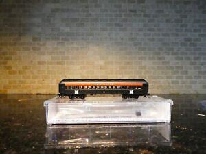 N SCALE ATLAS TRAINMAN NEW HAVEN 60' COACH ROAD#6835.       ITEM 50 003 811