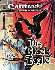 Commando For Action & Adventure Comic Book Magazine #1732 BLACK EAGLE