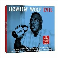 2-CD set ~ Howlin' Wolf ~ Evil (Not Now Music) IMPORT $7.95 SEALED
