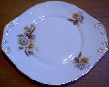 CROWN Trent FINE PORCELLANA cinese Piatto per torta floreale