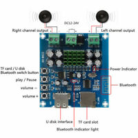 TPA3116D2 50Wx2 Bluetooth Wireless Power Amplifier Board Amplifier DC U Disk  xv