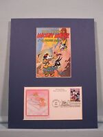 Walt Disney - Mickey Mouse & Minnie Mouse & First Day Cover of their own Stamp