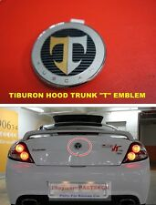 For 2003-2006 Hyundai Tiburon Coupe Hood Trunk T Emblem 2PCS 1SET Genuine Parts