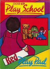 Play School BBC coloring book RARE UNUSED