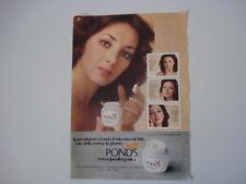 advertising Pubblicità 1978 CREMA POND'S e MARIA ROSARIA OMAGGIO