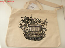 Brand New Macy's Eco Friendly Tote Canvas Large Reuseable Bag Retail $19.99