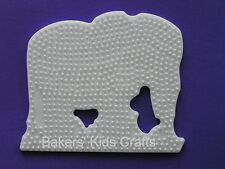 ~ ELEPHANT  Hama / Perler  Bead Pegboard  **NEW ITEM**