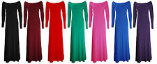 Jersey Party/Cocktail Long Sleeve Maxi Dresses for Women
