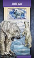 Sierra Leone 2018 MNH Polar Bear 1v S/S Wild Animals Bears Stamps