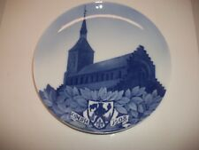 "Royal Copenhagen Plate 1908 St Canute /Repaired 11"" 212 Made Rc#82 / See Details"