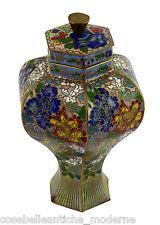 Jar Bronze Cloisonné Antiques Potiche Old Chinese Bronze Vase Minguo Period 900