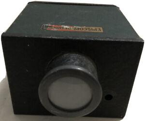 Vintage Episcope De-Luxe Photographic Light Box  Photography Photos Images Lens