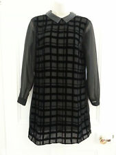 Petite Collared Long Sleeve Shirt Dresses for Women