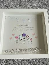 Bespoke Personalised Nanna Boxframe, Nan, Nanny, Granny, Grandma Birthday, Gift