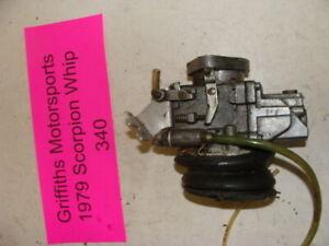 1979 Scorpion WHIP 340 oem walbro carb carburetor w rubber boot