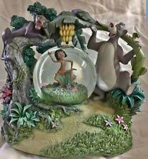 Disney Jungle Book Rotating Musical Snow Globe - Baloo Mowgli Bagheera
