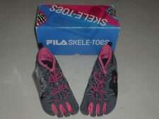 NEW FILA SKELETOES BAY RUNNER WATER SHOES SIZE 5 WOMENS PINK GRAY NIB BAYRUNNER