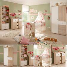 Babyzimmer Wiki 4-teilig Kinderzimmer in Sonoma Eiche sägerau und weiß