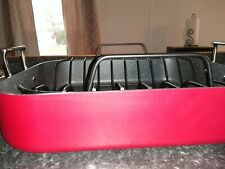 Curtis Stone DuraPan Ultimate 11 qt. Roaster (Red)