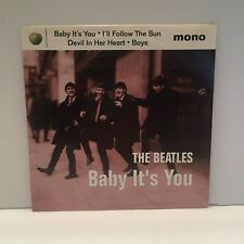 "The Beatles ""Baby It's You"" 45 rpm Mono EP Picture Sleeve NOS Mint 1995"