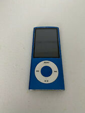 Apple iPod nano 4th Generation Blue (4 GB) Unit Only Works Great Lot 4A