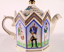 Sadler Teapot Heroes Borodino Russian Historical 201060 Golden Dolphin England
