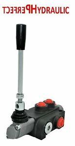 Handsteuerventil Handhebelventil Hydraulik 40L 1fach für Doppelwirkende zylinder