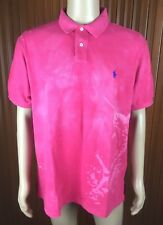 (Used) Polo Ralph Lauren Mens Short Sleeve Polo Shirt Size: XXL Swordfish Design