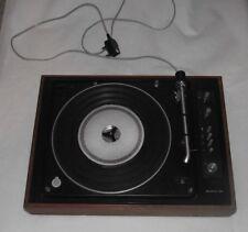 B&o Bang & ofusen Beogram 1500 Record Player Tourne-disques Amp travaillant avec défauts.