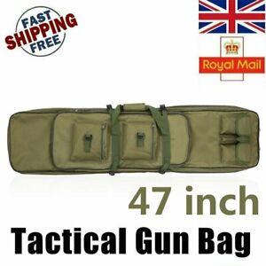 """120cm/47"""" Fit for RIFLE CASE Air Gun Airsoft Soft Air Mat Slip Bag UK"""