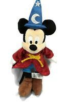 Disney Mickey Mouse 14 Inch Disney Parks Plush Doll Sorcerer Wizard Fantasia