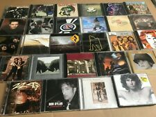 Classic Rock 28 CD Lot Beatles Rush Dylan Band U2 Neil Young Who Doors Eagles