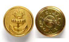 Bottoni Officiers Blu marino 1852-1870 Napoleone III°. Francia 15 mm