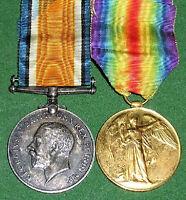 WW1 BRITISH WAR & VICTORY MEDAL PAIR,PTE SHATTON,2nd & 9th WEST RIDING.REGIMENT